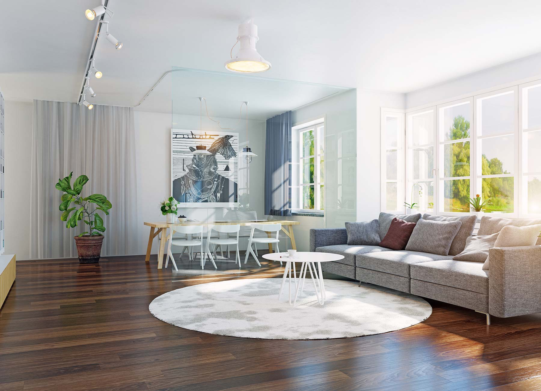 image of home entry with a nice hardwood floor