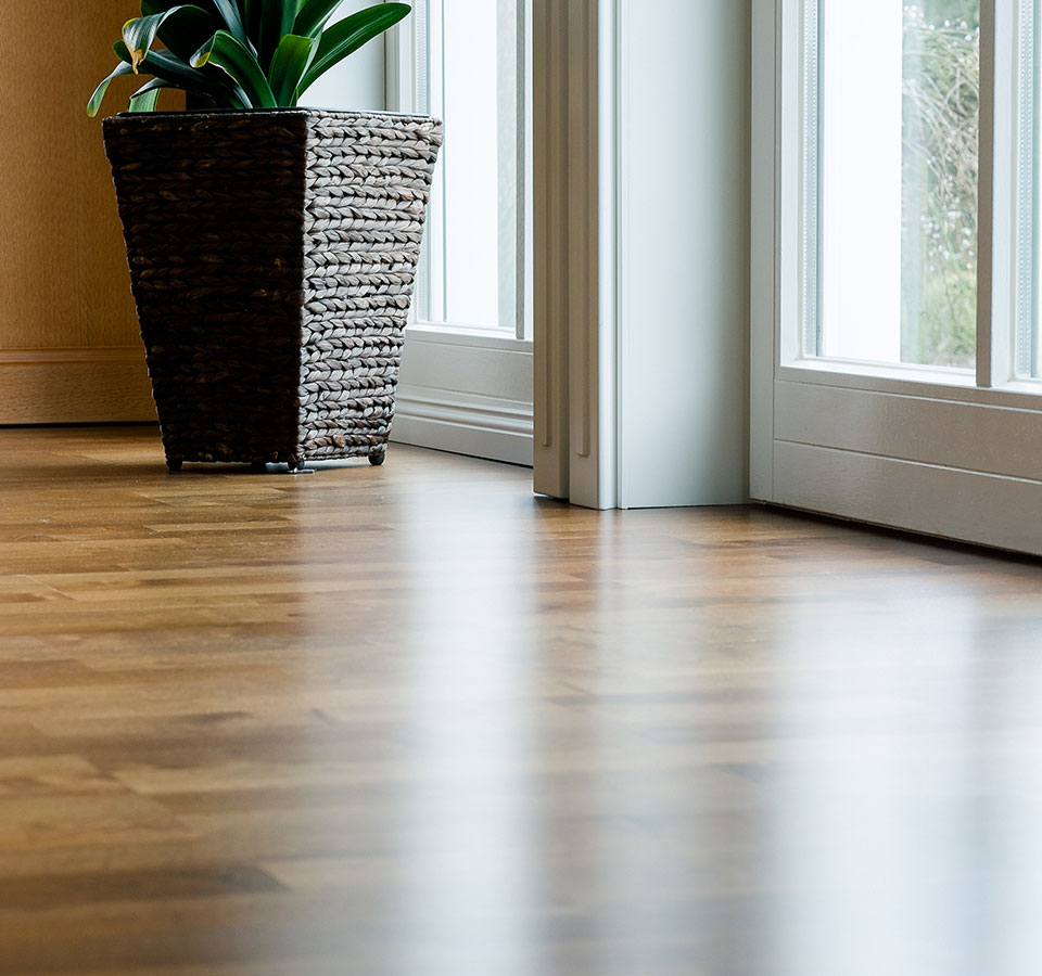 image of nice living room with laminate flooring