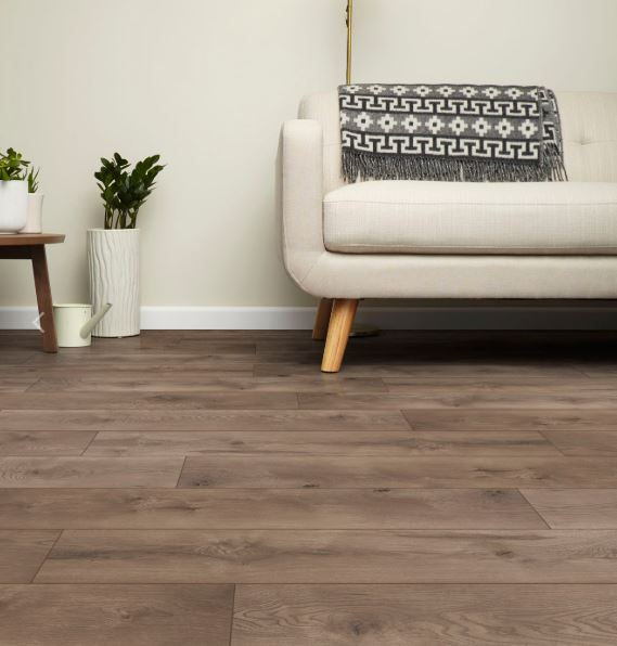 image of InHaus laminate flooring in a living area